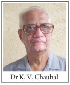 Dr. K. V. Chaubal.